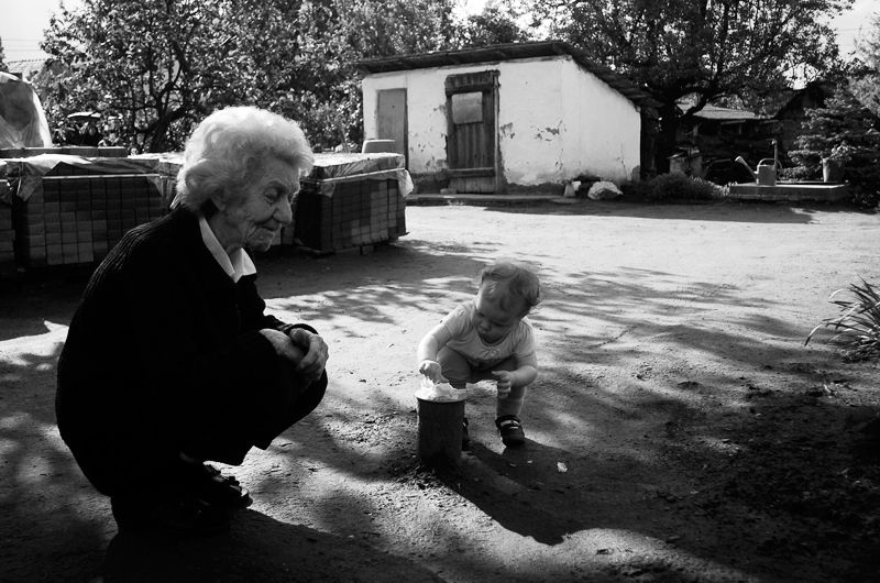 Grandma and Dorka 2