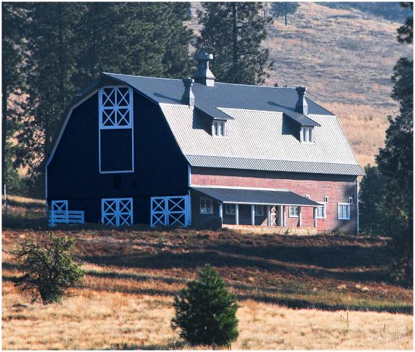 A newer barn