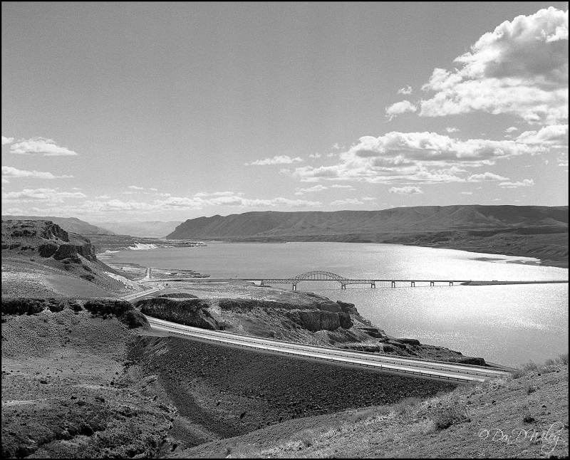 Vantage bridge over the Columbia