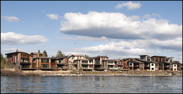 Condos on the river
