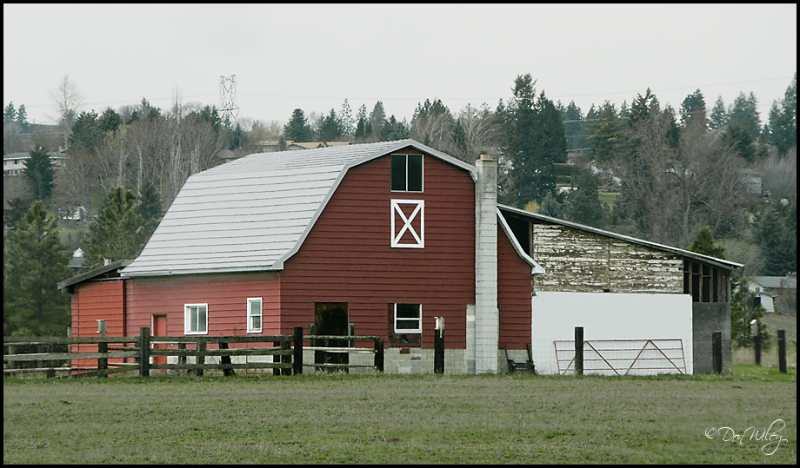 Barn with a chimney?