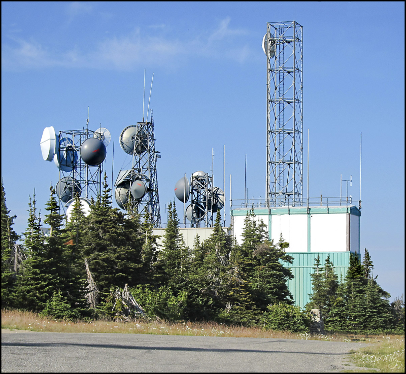 Antennas On Mt. Spokane