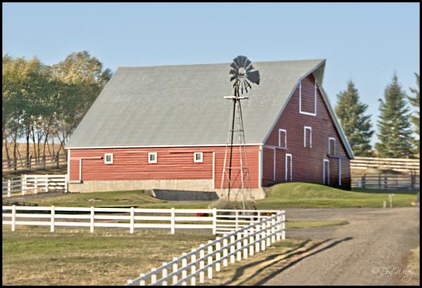 White Fence Barn