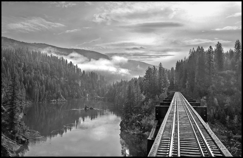 Box Canyon Bridge over the Pend Oreille River