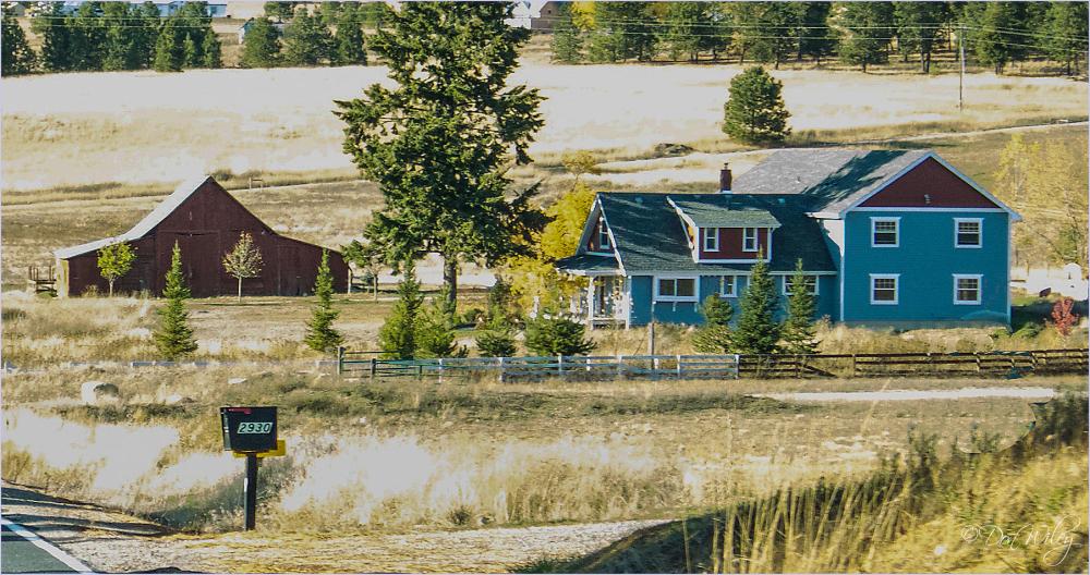 A Farm With Fences