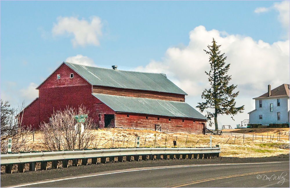 Barn By The Road
