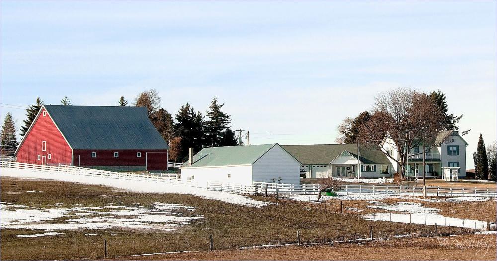 A Farm Home
