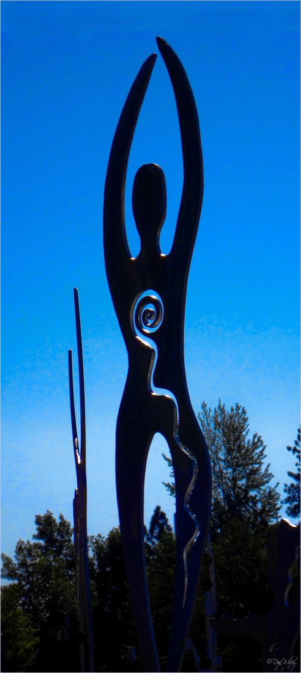 Clinic Statue