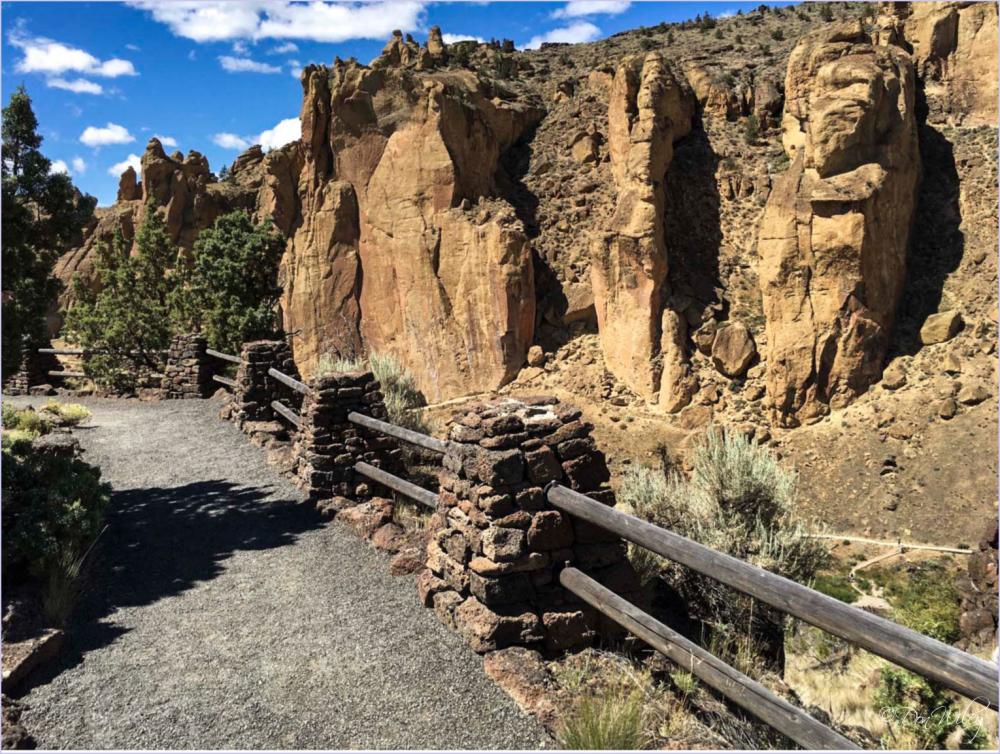 Mid Oregon Rock Formations