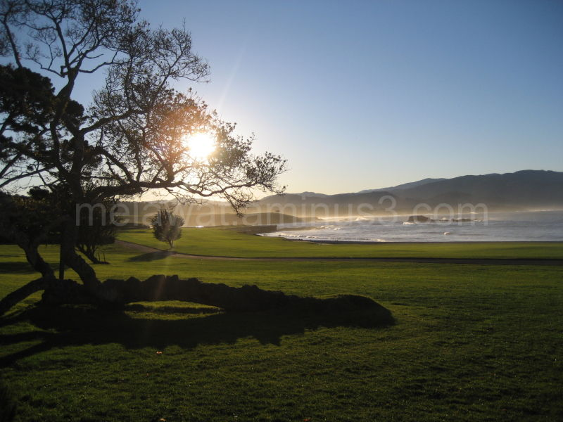 Sunrise Pebble Beach