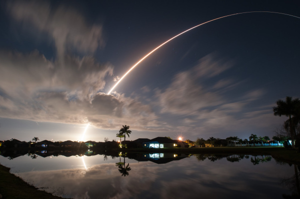 Atlas 5 NASA MUOS Satellite Launch