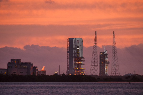Orion EFT1 On The Pad