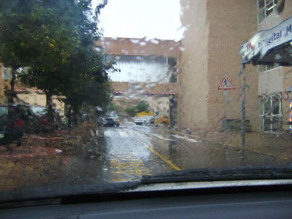Afuera llueve