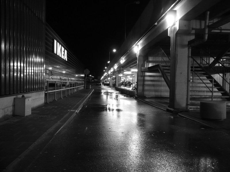 Street, night ..