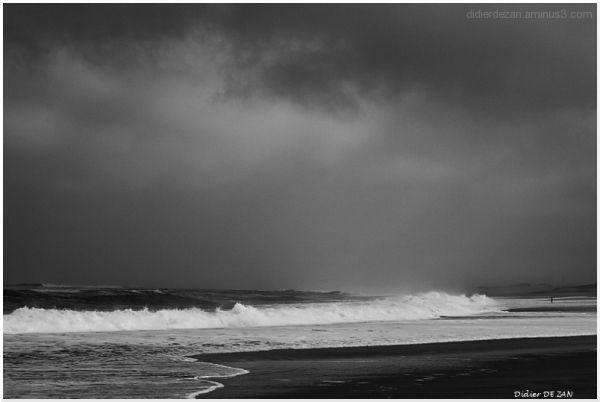 Face à l'ocean....