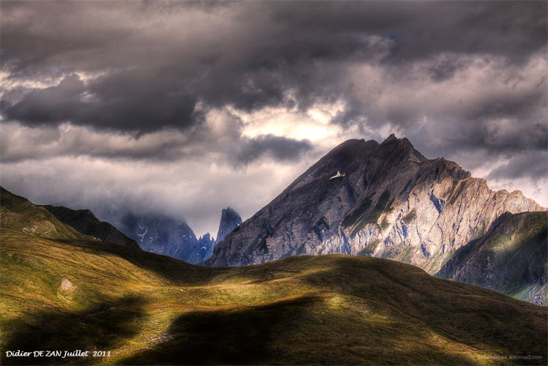 Dans les Alpes ....
