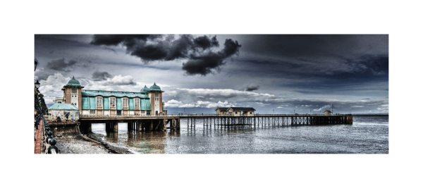Lanarth pier Nr Cardiff South Wales UK