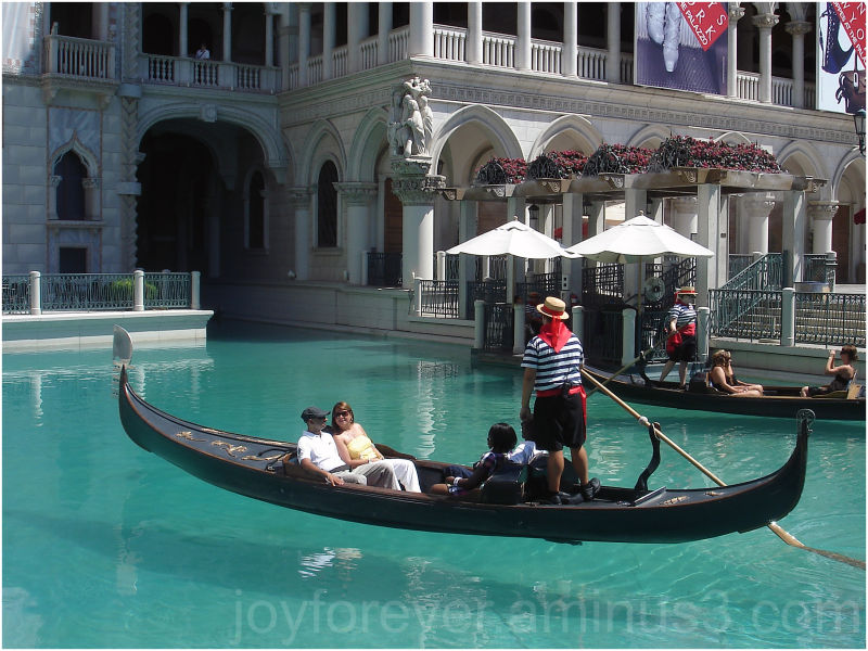 gondola venice las-vegas venetian nevada USA boat