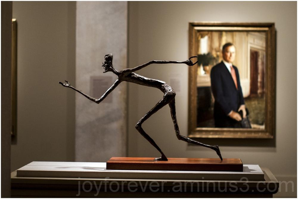 portrait sculpture George-Bush Portrait-Gallery DC