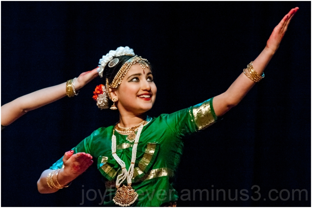 Indian classical dance Bharatnatyam woman girl