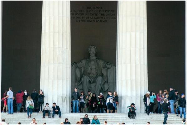 Lincoln-memorial Washington DC monument pillars