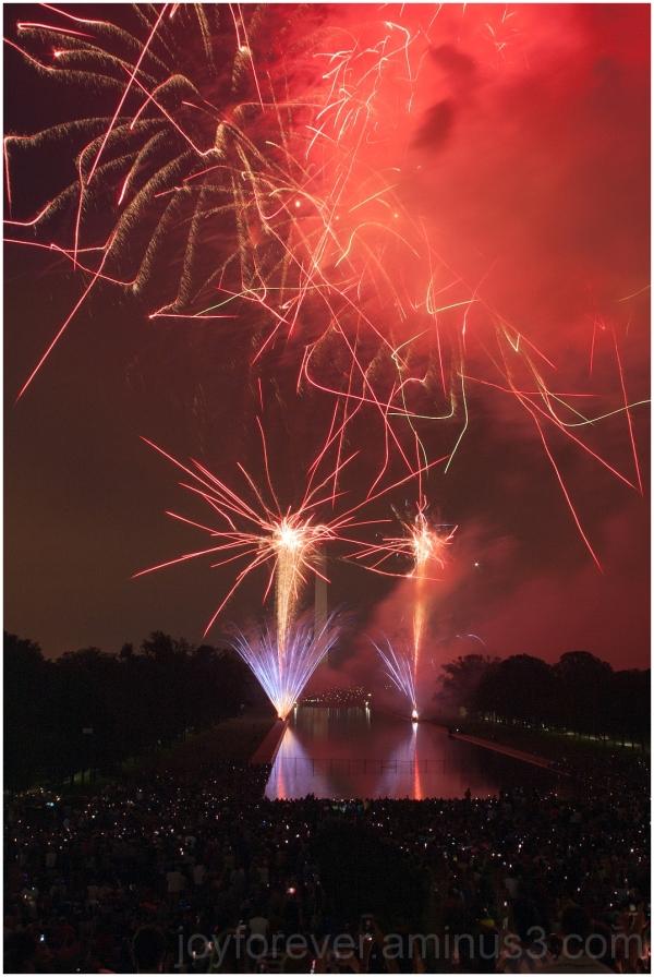 July4th fireworks USA IndependenceDay WashingtonDC
