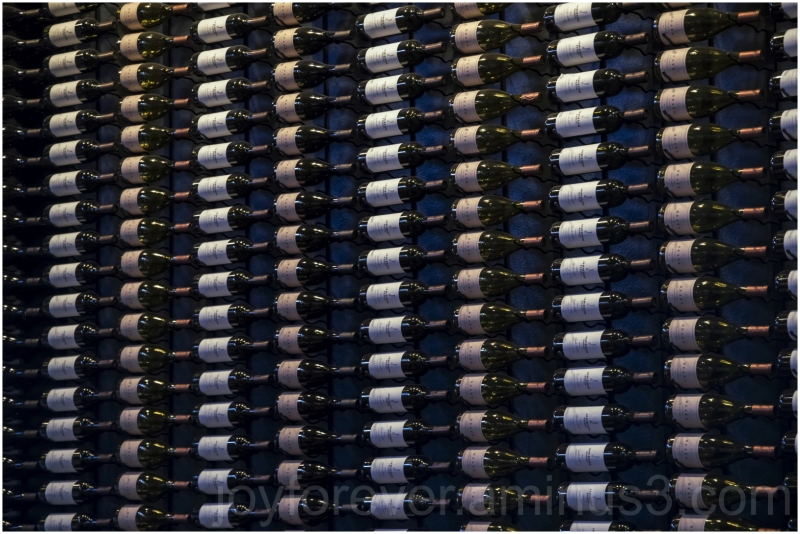 wine bottle winery NapaValley California Array