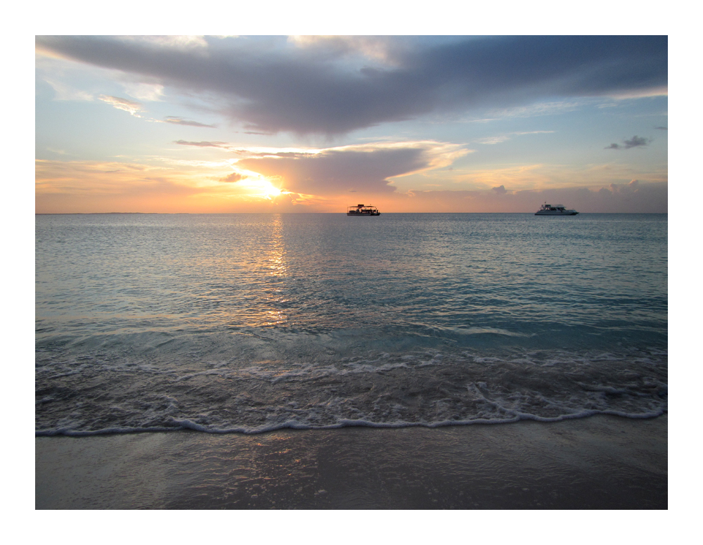 sunset, Turks and Caicos Islands