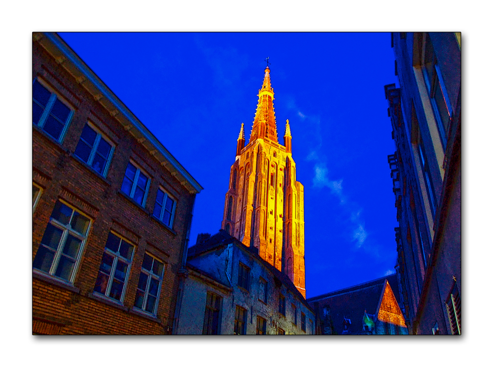 Bruges la nuit !!!