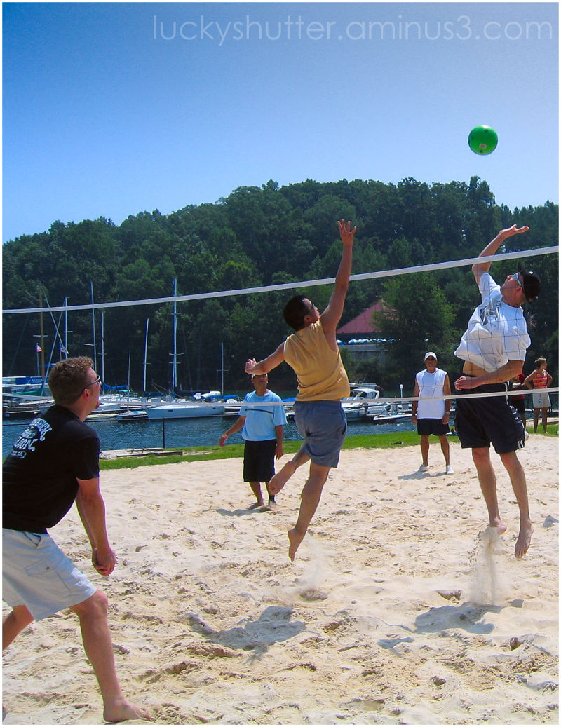 Volleyball at Lake Lanier