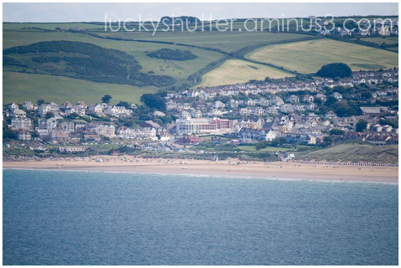 Woolacombe from Baggy Point