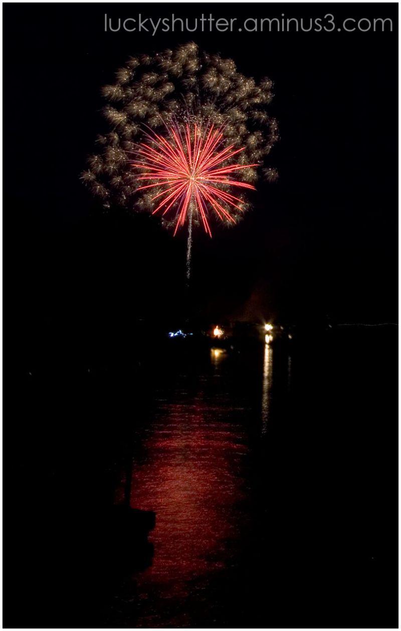 Fireworks on the Fourth V