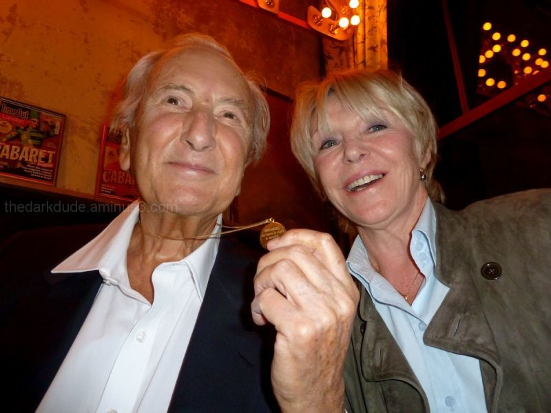 Michael Winner Geraldine Lynton dark dude