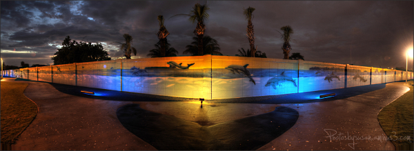 Wyland's Whaling Wall