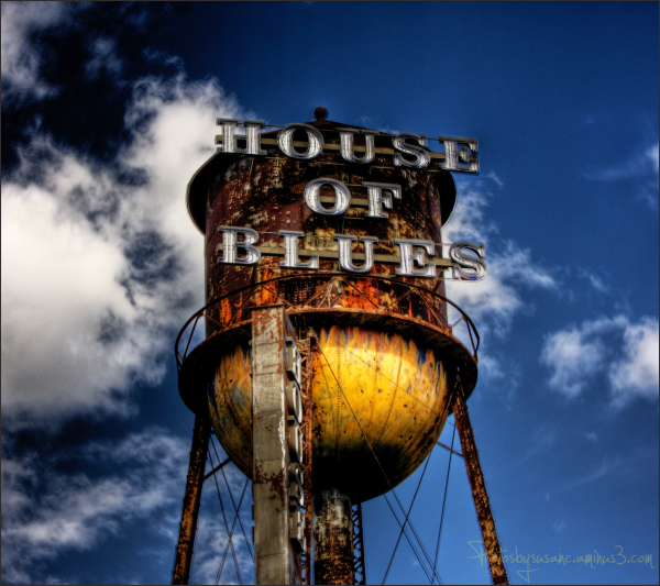 Tower of House of Blues