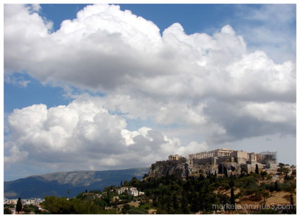 Clouds over the Acropolis Hill