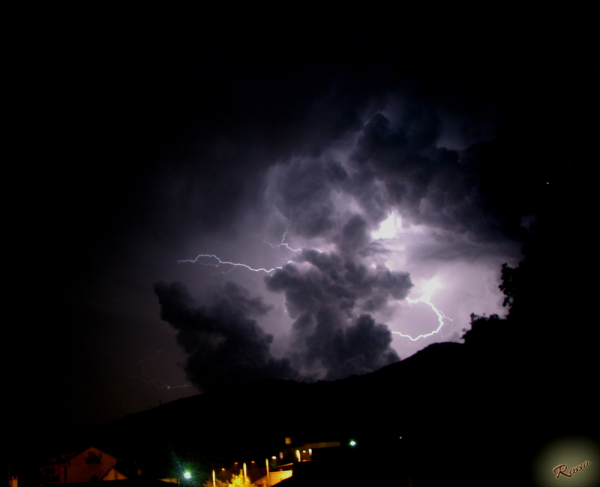 Fulmini e nuvole