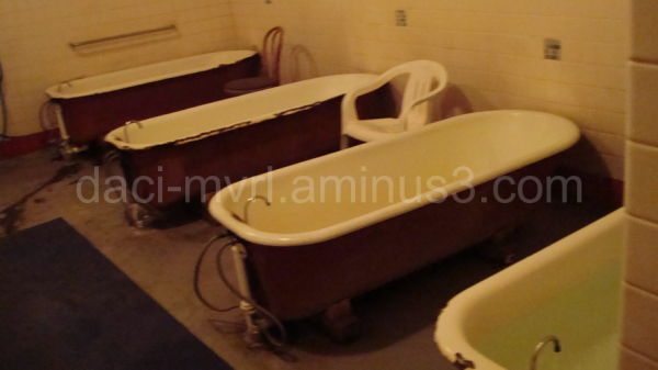 Inside the Bath house - iii
