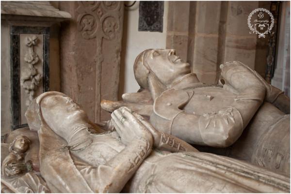 church statue grave keddleston manor