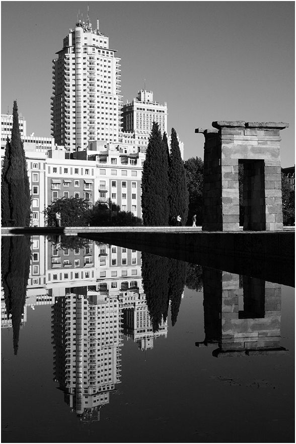 Temple of Debod. Madrid. Spain