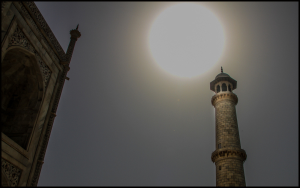 Sun over a Minaret