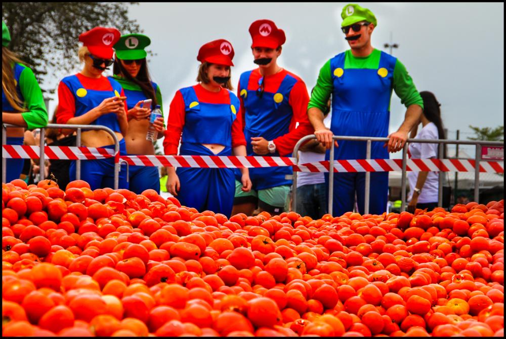 Tomato Battle 1