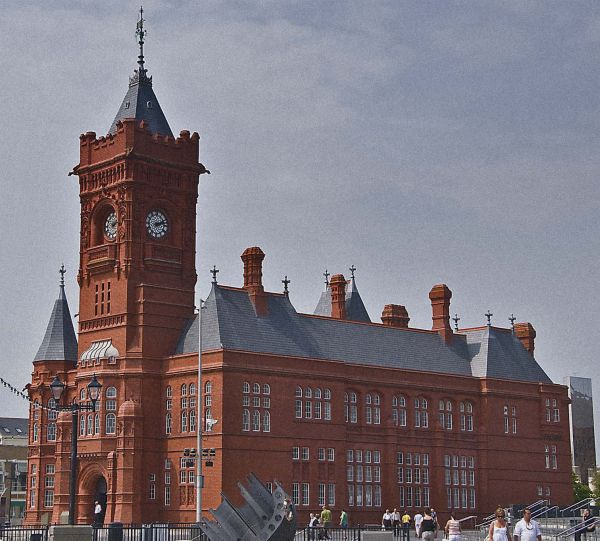 Cardiff Bay - Pierhead