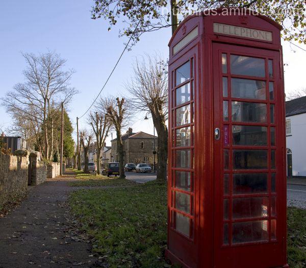Phone Box - a rare sight these days