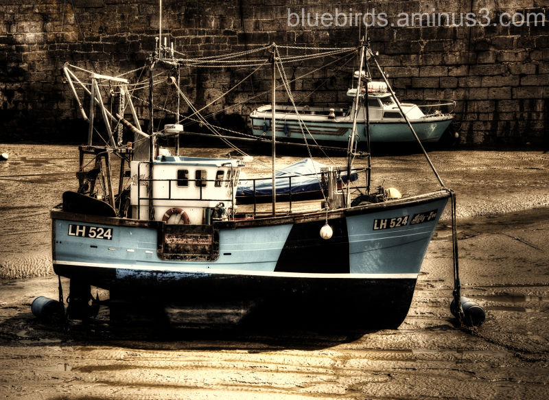Porthcawl Harbour Boat