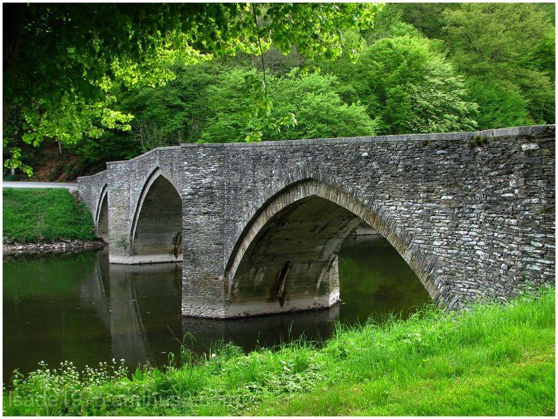 Old bridge on the Semois