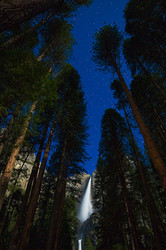 Night Sky, Yosemite Falls