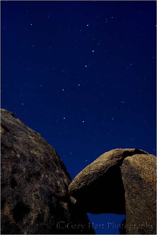 The Big Dippers above California's Alabama Hills