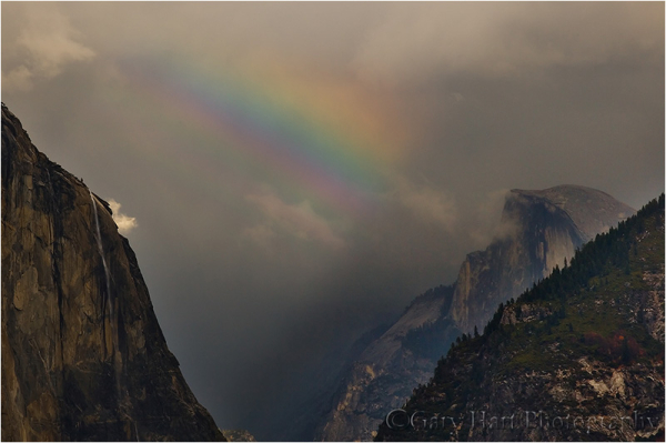 Rainbow and Half Dome