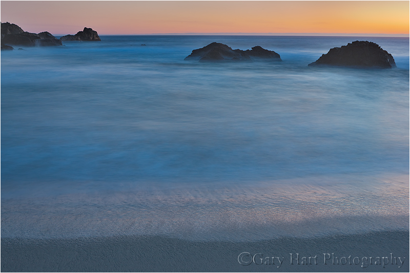 Gossamer Twilight, Garrapata Beach, Big Sur